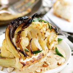 Ester Restaurant Cauliflower with Almond Sauce (Chef Recipe)