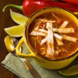 Eva's Tortilla Soup