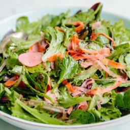 Eventide Green Salad with Nori Vinaigrette