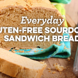 Everyday Gluten-Free Sourdough Sandwich Bread