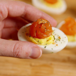 Everything Deviled Eggs
