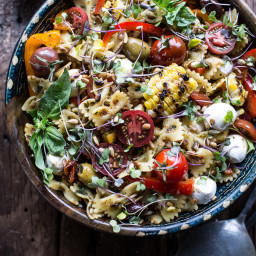 Everything But the Kitchen Sink Pasta Salad.