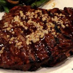 Extreme Garlic Grilled Sirloin Steak