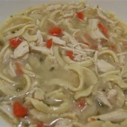 Fabulous Chicken Noodle Soup (Can be made gluten-free)