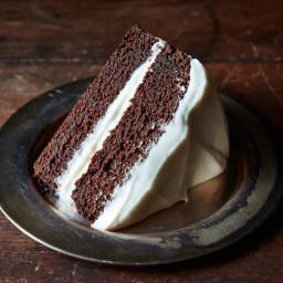 Faith Durand's Dark Molasses Gingerbread Cake
