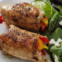 Fajita Chicken Roll-Ups