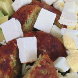 Falafel Cobb Salad Recipe