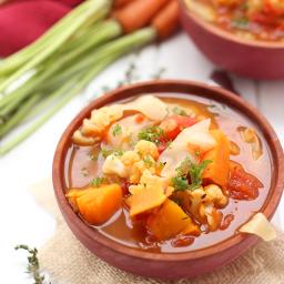 Fall Detox Vegetable Soup