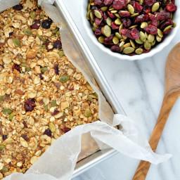 Fall Harvest Granola Bars + Final Nutrimom Update