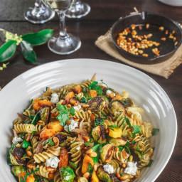 Fall Rotini Pasta Salad