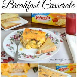 Family Recipes | Velveeta Cheese Breakfast Casserole
