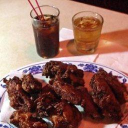Famous Chicken Alice Kim Chee Chicken Wings