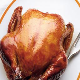 Fantastic Bourbon Smoked Chicken