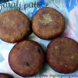 Farali Pattice Recipe
