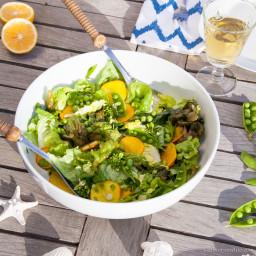 Farmers Market Spring Salad with Lemon Vinaigrette