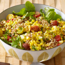 Farro and Corn Salad
