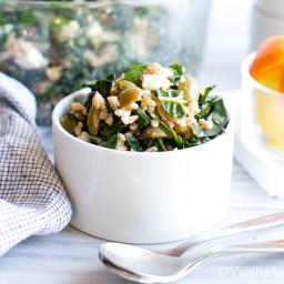 Farro, Kale and Olive Salad