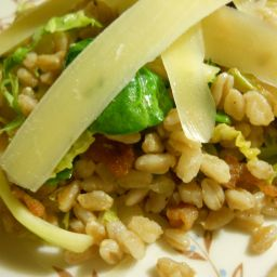 Farro Risotto With Cannellini Beans