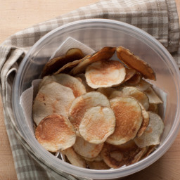 Low Cal, Low Na, No Fat, Gourmet Microwave Potato Chips - Carnot Chips