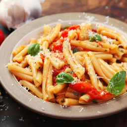 Fast and Easy Pasta With Blistered Cherry Tomato Sauce Recipe