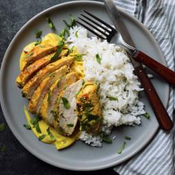 Fast, Creamy Chicken Curry
