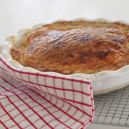 fast family dinner - super easy chicken pie