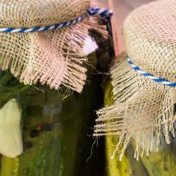 Fast Favorite Garlic Dill Pickles