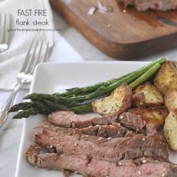 Fast Fire Flank Steak
