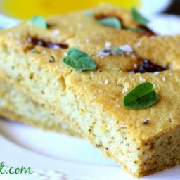 Fat-Burning Paleo Focaccia Bread