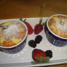 Favorite Fruit Clafouti