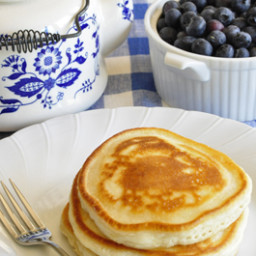 Favorite Pancakes (without eggs)