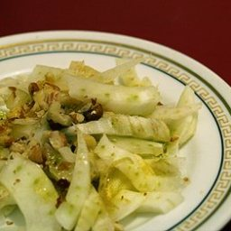 Fennel And Walnut Salad