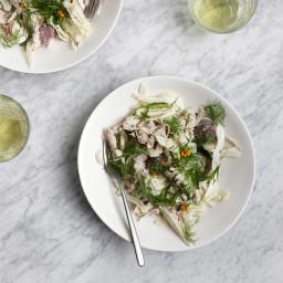 Fennel, Chicken and Potato Salad