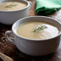 Fennel, Garlic and Potato Soup
