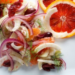 Fennel Salad With Oranges and Olives