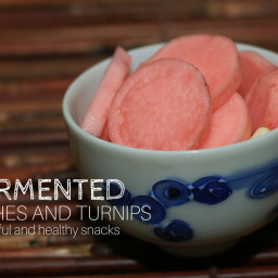 Fermented Radishes with Turnips