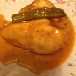Festive Chicken with Asparagus