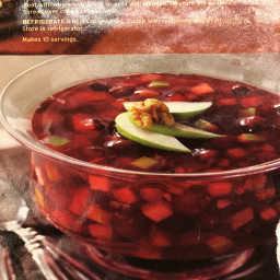 Festive Cranberry-Pineapple Salad