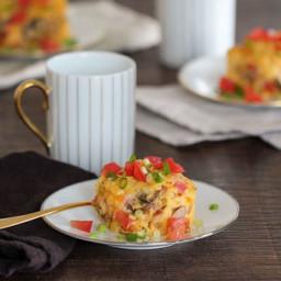 Festive Egg Squares