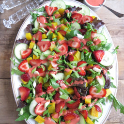 Festive Salad for Holidays and Celebrations (AIP - Paleo)