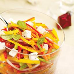 Feta and Pepper Salad
