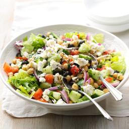 Feta Garbanzo Bean Salad Recipe