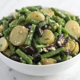 Feta, Green Bean and Potato Salad Recipe