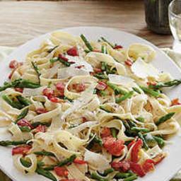 Fettuccine-and-Asparagus al Burro