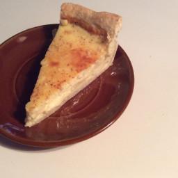 Fibby's custard pie