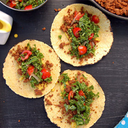 Fiber-Rich Walnut Lentil Tacos