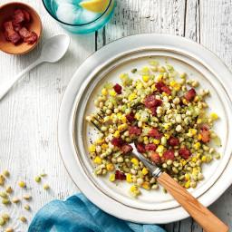 Field Pea, Corn, and Bacon Salad Recipe