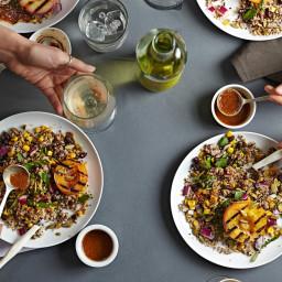 Fiery Fruit & Quinoa Salad From 'Salad Samurai'