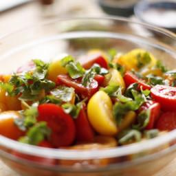 Fiesta Tomato Wedge Salad