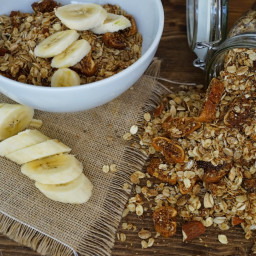 Fig, Almond and Coconut Granola